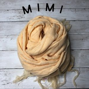 Butterscotch Cream LuLaRoe Mimi - Scarf / Poncho